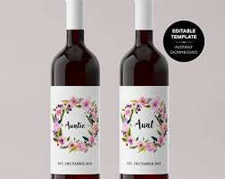 avery wine labels etsy