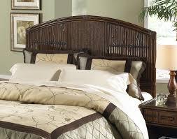 bedroom queen size painted rattan headboard