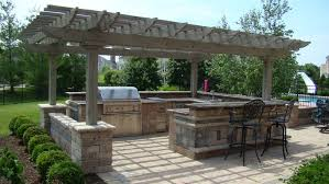 Outdoor Kitchen Cabinet Kits by Pergola Outdoor Kitchen Plans Pergolas Italian 1675 A Pergola