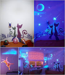glow in the dark paint and decals for your child u0027s room