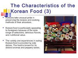 cuisine characteristics ppt food