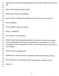 kobe bryant police interview the smoking gun