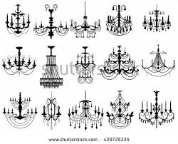 Chandelier Photoshop Brushes Free Vector Chandelier 123freevectors