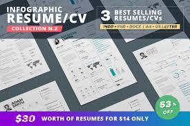 infographic resume cv template volume 9 by paolo6180 graphicriver