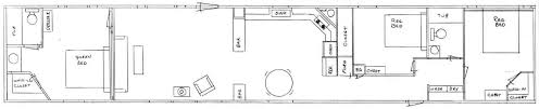 single wide mobile home floor plans single bedroom home