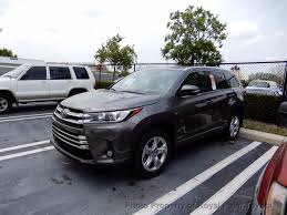 toyota highlander 2017 new toyota highlander limited v6 awd at royal palm toyota