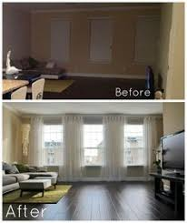 How Wide To Hang Curtains One Panel Curtain Per Window Home Decor Ideas Pinterest