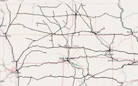 map of iowa railroad maps iowa department of transportation