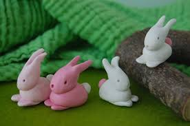 bunnies for easter fimo bunnies for eastereducator101