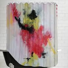 Crazy Shower Curtains Rose Gold Shower Curtain Wayfair