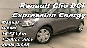 renault clio dci st expression energy manual diesel 19 731km 90cv
