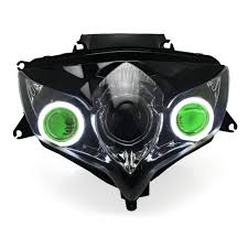 kt full headlight for suzuki gsxr750 gsx r750 2008 2009 2010 led