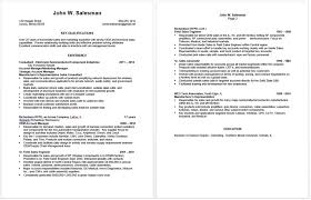 Outside Sales Resume Sample by Preparing An Effective Sales Resume Frank U0027s Employment