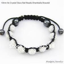 shamballa bracelet handmade images 3 mixed colors 10mm fashion cz crystal beads shamballa bracelet jpg
