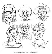 clown drawing stock images royalty free images u0026 vectors