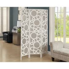 White Room Divider Screen Home Decorators Collection 5 83 Ft White 3 Panel Room Divider