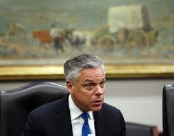 report former utah gov jon huntsman jr u0027in discussions u0027 to