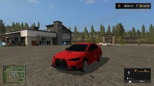 mitsubishi evo 2017 mitsubishi lancer evo x v1 0 u2014 the best farming simulator 2017 mods