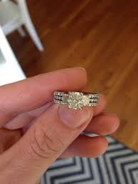 Engagement Rings And Wedding Band Sets by Show Me Pics Of Your 3 Stone E Ring And Wedding Band Set Please