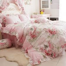 Ruffle Bed Set Buy Pink Ruffle Bedding Set Princess Bed Comforter Comforters Sets