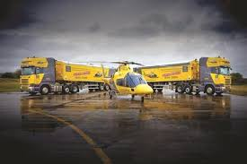 fermac shows support for air ambulance service with new scanias