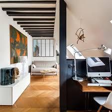 bureau sous pente combles idée décoration combles et aménagement domozoom