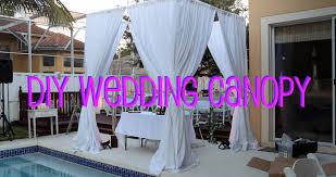 how to build a chuppah diy wedding canopy
