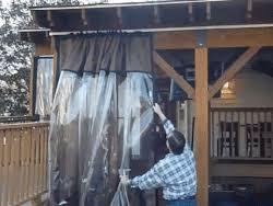 Vinyl Patio Enclosure Kits Clear Vinyl Plastic Panel Enclosures For Porch U0026 Patio