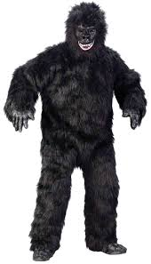 gorilla halloween mask gorilla suit full body king kong costume mens unisex furry