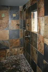 slate bathroom ideas we to replace the tile floor in our shower looking