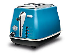 Delonghi Icona 4 Slice Toaster Black Delonghi Icona Blue 2 Slice Toaster Kitchen Pinterest