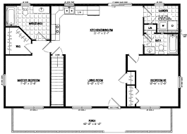 Two Bedroom Cabin Floor Plans Certified Homes Musketeer Certified Home Floor Plans