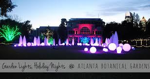 Botanical Garden Atlanta Lights Garden Light Show Home Outdoor Decoration