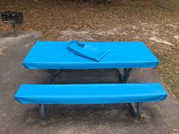 vinyl picnic table and bench covers furniture com table glove fitted marine grade vinyl picnic