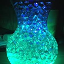 submersible led tea lights another way to do the centerpiece water beads with submersible