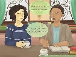 how to write a mental health treatment plan 13 steps