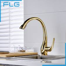 gold kitchen faucet 126 14 buy free shipping pull out gold kitchen faucets and