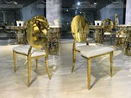 Gold Dining Chairs Gold Dining Chairs Hardware Hardware Event Furnitures