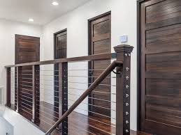 Modern Banister Rails Best 25 Stair Railing Kits Ideas On Pinterest Staining Stairs