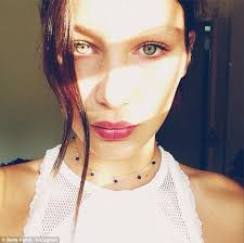 natural color of yolanda fosters hair bella hadid yolanda foster s daughter who s posed for elle france