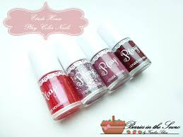 review etude house play color nails berries in the snow