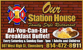 our station house serving family and friends