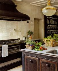 Elle Decor Kitchens by Cast Iron Stove Island Kitchen Atticmag