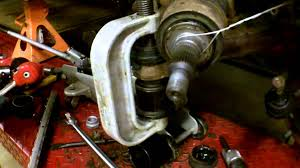 1998 gmc k1500 upper and lower ball joint replacement youtube