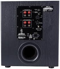 fluance avbp2 home theater bipolar surround sound satellite speakers amazon com bic america f12 12 inch 475 watt front firing powered