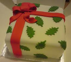 holly christmas cake decoration u2013 decoration image idea