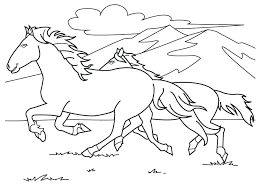 coloring sheets of a horse coloring pages of horses horses coloring book together with