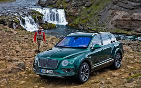 bentley suv 2016 bentley u0027s first suv has an optional 100 000 fly fishing kit