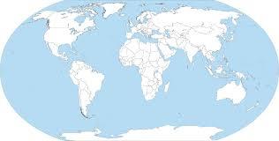 Blank Map Of The Americas by Big Blank World Map By Fenn O Manic On Deviantart