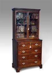 Small Bureau Desk Uk Small Antique Secretaire Bookcase Bureau And Secretaire